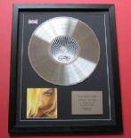 MADONNA - Greatest Hits Vol 2 GHV2 CD / PLATINUM PRESENTATION DISC